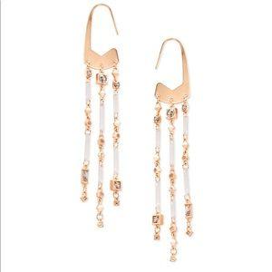 Kendra Scott Corza Rose Gold Statement Earrings